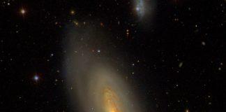 Messier 90– the NGC 4569 Spiral Nebula