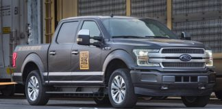 Ford flaunts electrical F-150 truck by pulling a million pounds of train