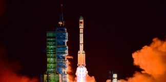 China's Tiangong 2 was Destroyed Recently, Burning up in the Environment Over the South Pacific Ocean