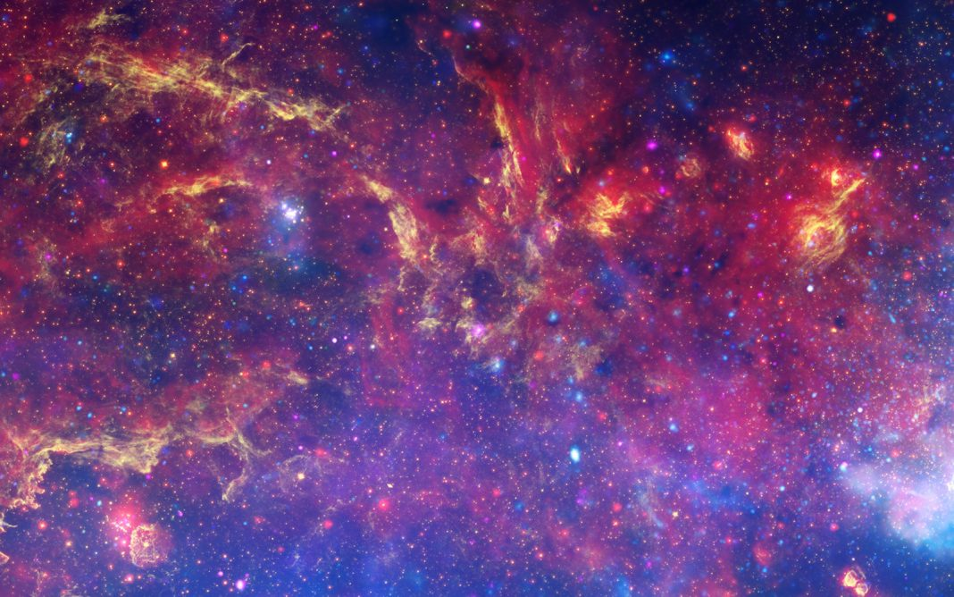 The Galaxy Was a Cute Cannibal, Cosmic 'Infant Photo' Exposes