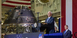 VP Pence Reveals the Spacecraft that will Take Astronauts Back to the Moon in 2024!