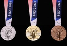 Japan recycled almost 80,000 lots of cellular phone and other electronic devices to make the medals for the 2020 Tokyo Olympics and Paralympics