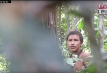 New Video Footage Reveals Uncontacted Amazon Tribesman from the World's 'Many Threatened' People
