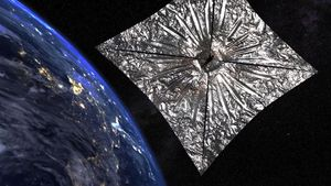 LightSail 2 starts its very first journey video