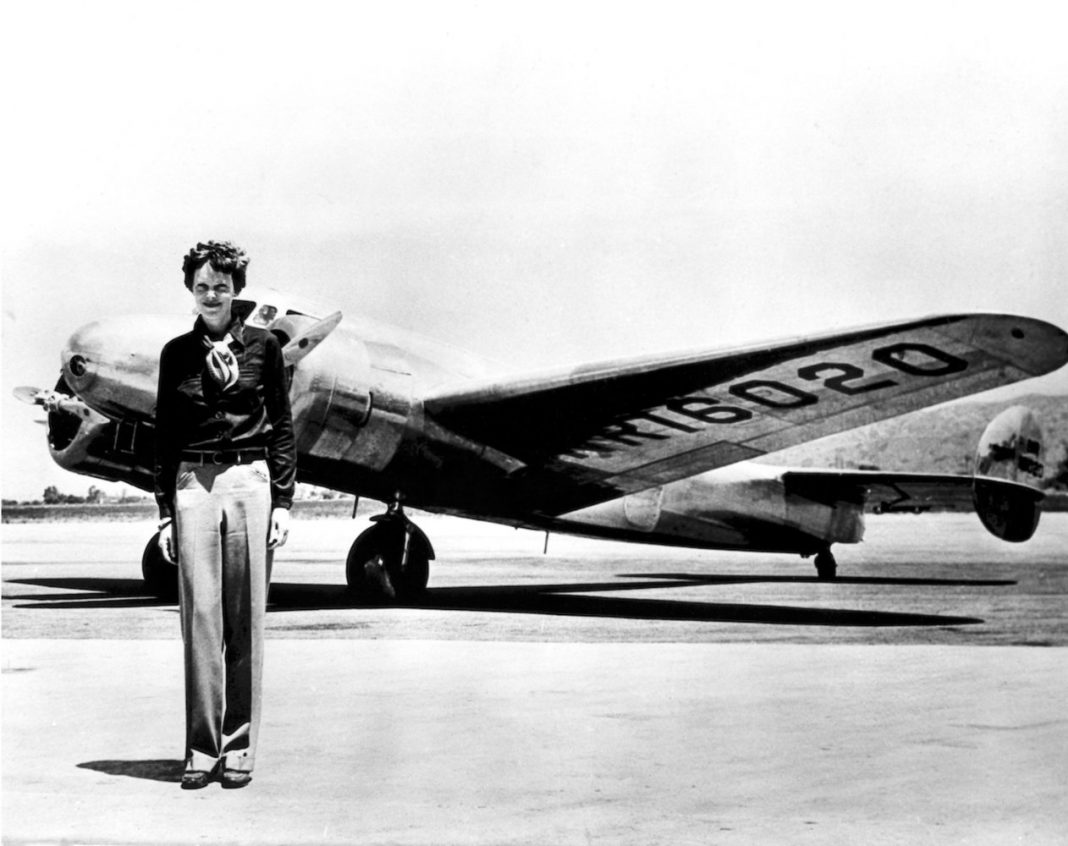 The Male Who Discovered the Titanic Is Searching for Amelia Earhart's Airplane