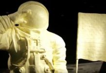 NASA's Apollo 11 astronauts honored in… a butter sculpture
