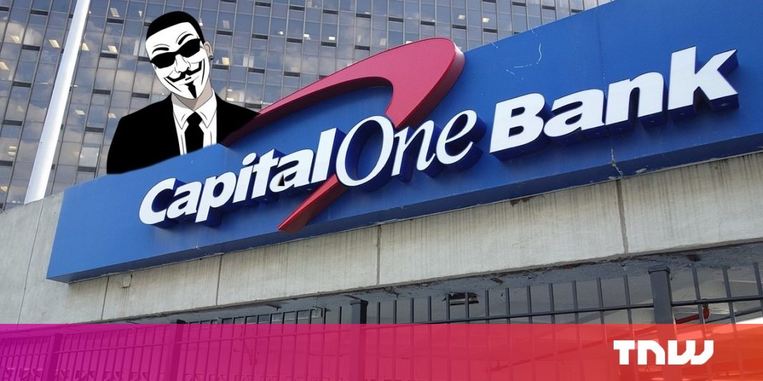 Capital One information breach compromises 106 million clients' individual information