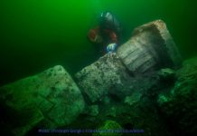 Scuba Divers Discover Remains of Ancient Temple in Sunken Egyptian City