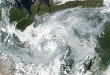 The Arctic is on fire, and these images from area reveal the choking smoke