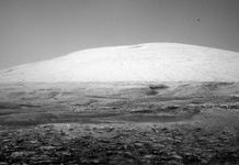NASA Mars Interest rover catches ghostly picture of Mount Sharp