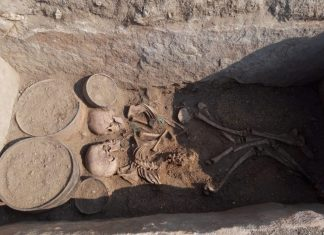 This Boy and Lady Were Buried Face-to-Face 4,000 Years Earlier in Kazakhstan