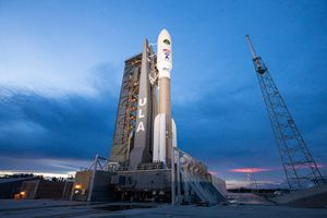View video of ULA's Atlas V rocket launching from Florida