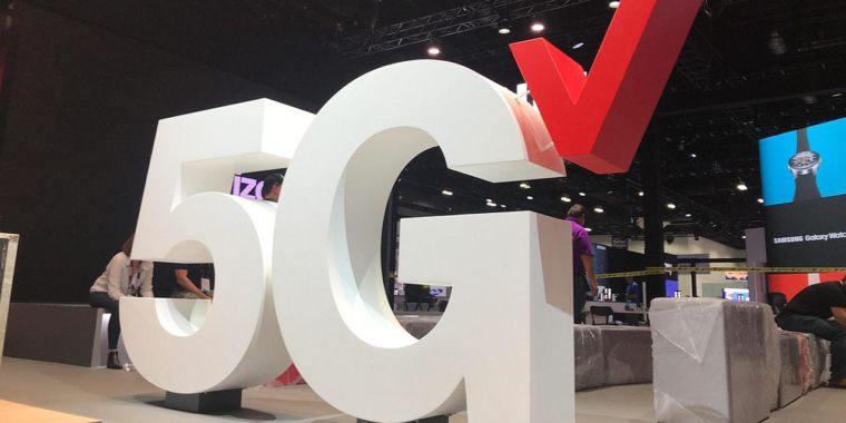"""Verizon: 5G speeds on low-spectrum bands will be more like """"excellent 4G"""""""