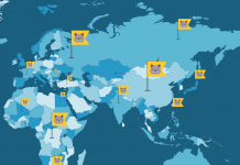 Animated map demonstrates how felines spread out throughout the world