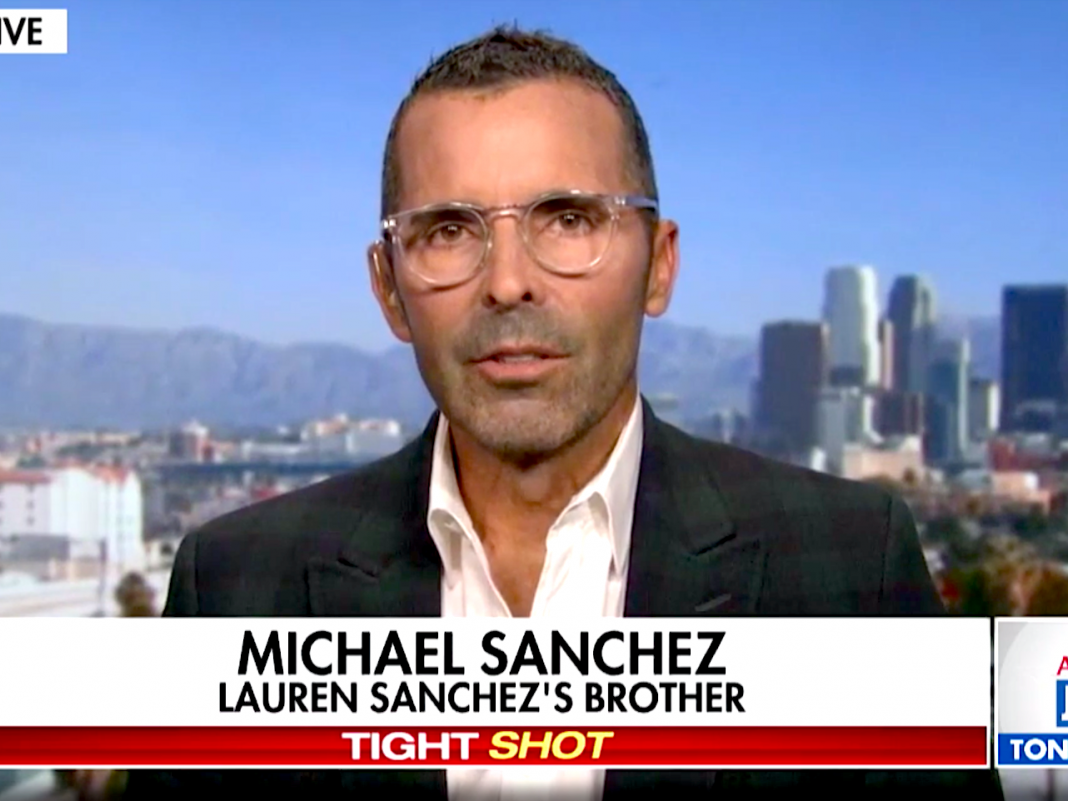 Michael Sanchez was implicated of dripping Jeff Bezos' affair with Lauren Sanchez. He states he was securing the set since Bezos didn't rely on the Amazon press workplace.