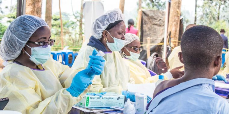 2 Ebola drugs increase survival rates, according to early trial information
