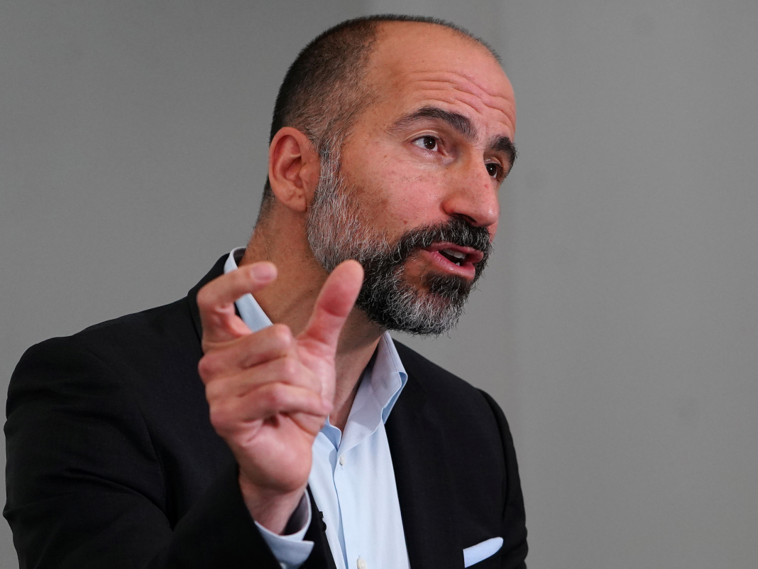 Uber CEO informs workers that he's cutting expenses like 'anniversary balloons' as worried engineers fret about layoffs (UBER)