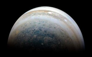 Jupiter might have been ceaselessly modified by a head-on collision with a 'planetary embryo'