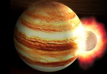 A planetary body might have smashed into Jupiter, developing its strange core