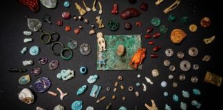 Archaeologists found an important cache of routine artifacts at Pompeii