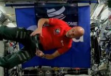 Watch a DJ astronaut drop sick beats on Earth from the ISS