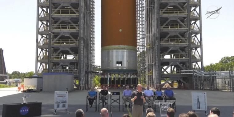 NASA chief pushes away Senators required to money the Moon program