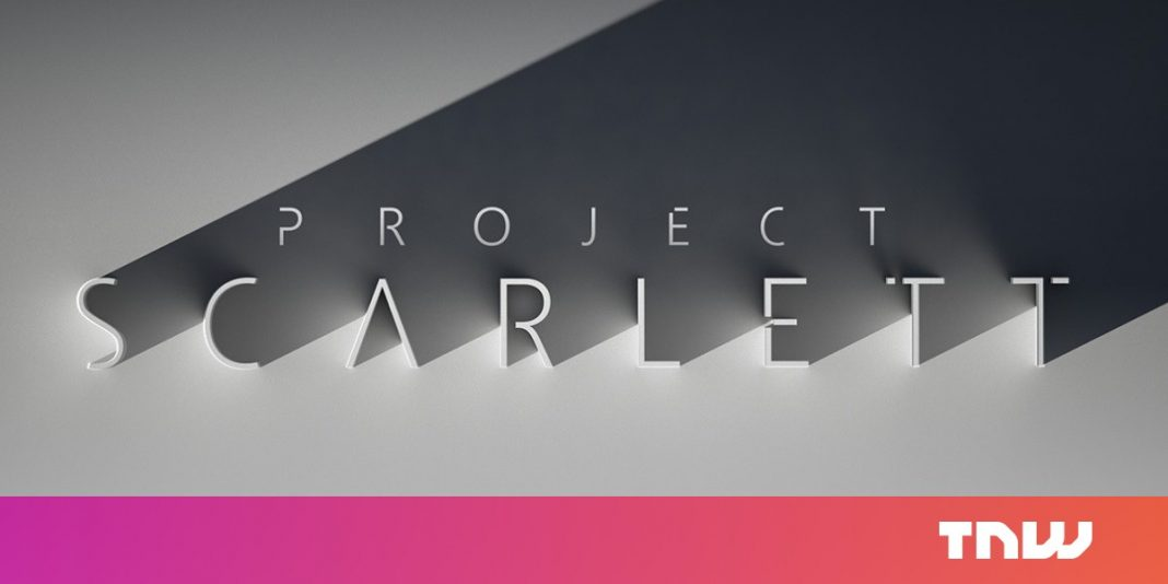 Xbox verifies Task Scarlett is the only console it has in the works