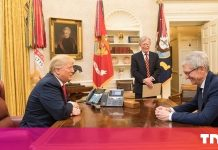 Tim Cook makes a 'engaging' argument to Trump for excusing Apple from tariffs