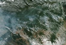 Amazon jungle fires rage in sobering views from area