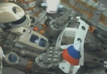 Russia simply sent out a weird, humanoid robotic to the spaceport station