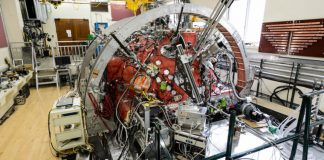 Sun's solar wind recreated in laboratory with help of Big Red Ball