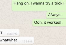 Here's how to include italics and bolding to your WhatsApp messages