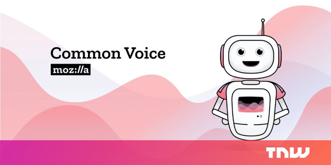 How Mozilla is crowdsourcing speech to diversify voice acknowledgment