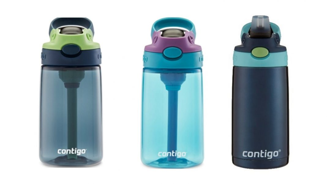 Your Kid's Contigo Water Bottle May Be a Choking Risk