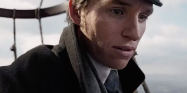 Eddie Redmayne stars as a pioneering balloonist in The Aeronauts trailer