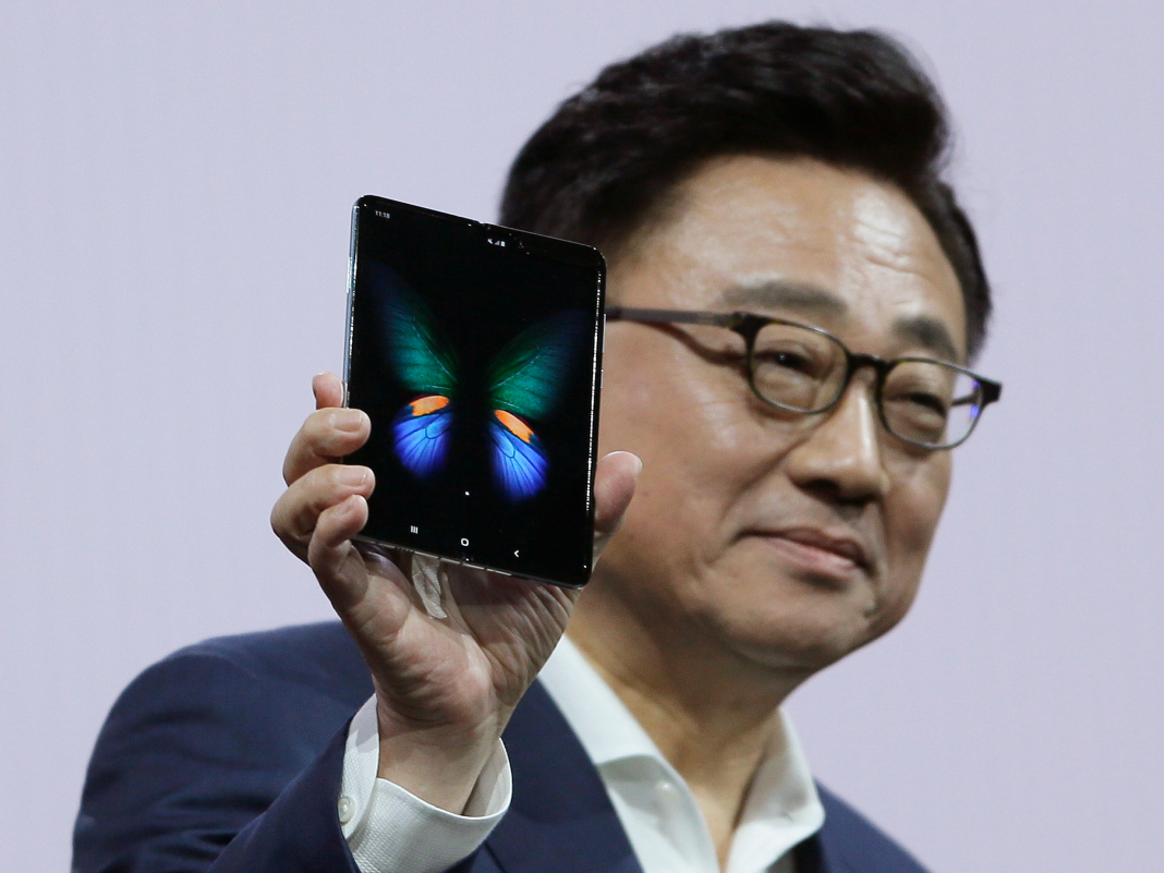 Samsung's modified $2,000 collapsible Galaxy Fold smart device is apparently introducing on September 6