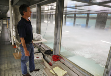 This $15 million water tank can imitate a Classification 5 typhoon. It might expose hints about how storms aggravate gradually.