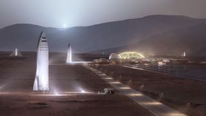 SpaceX Starship prospective Mars landing websites discovered in NASA images