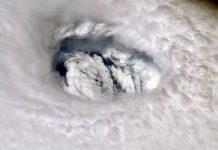 NASA astronaut snaps eerie Hurricane Dorian eye close-up