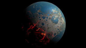 How ancient oceans of lava might have improved Earth's oxygen levels