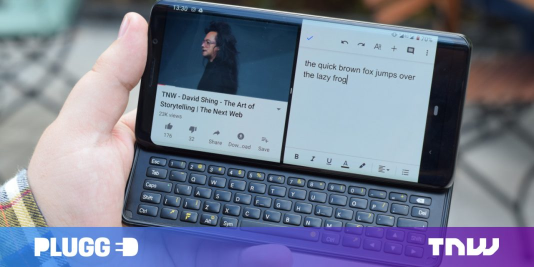 The F( x) tec Pro 1 shows there's space for keyboard slider phones in 2019