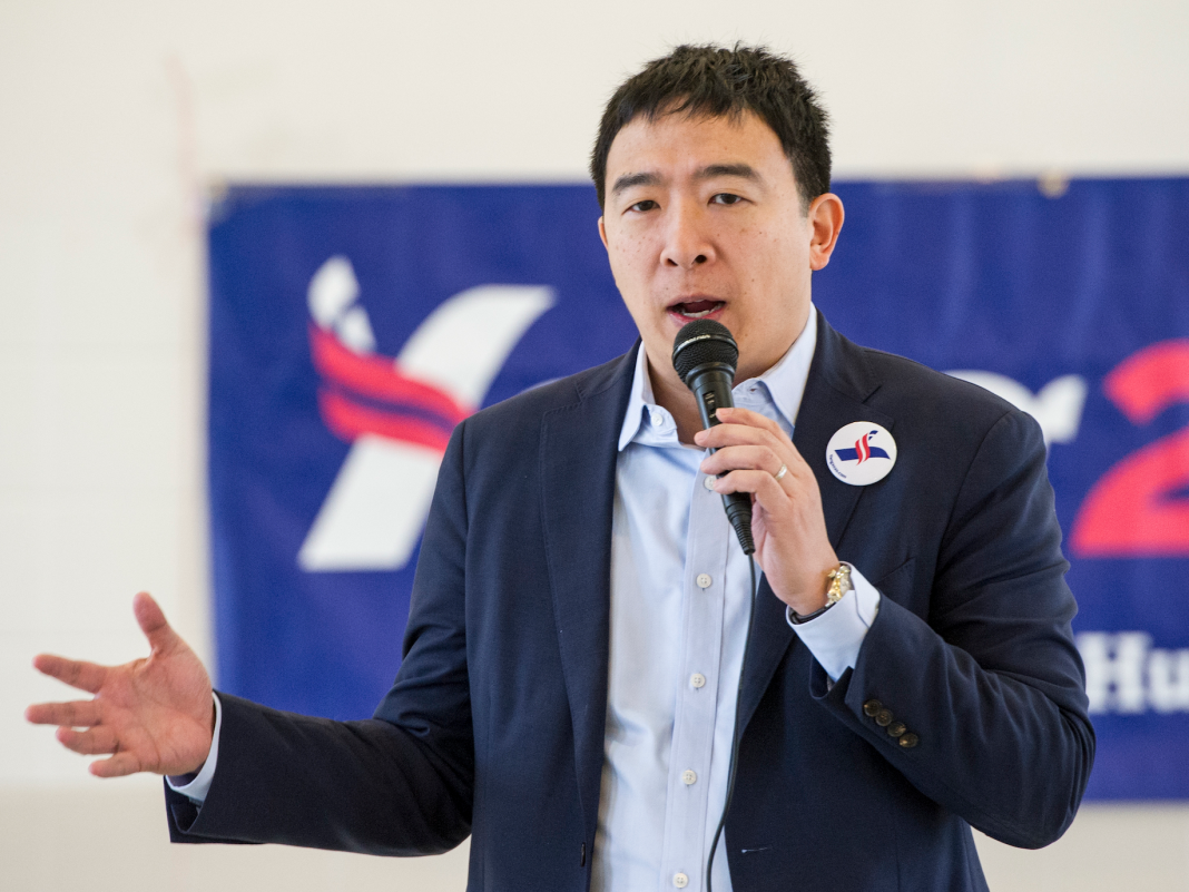 Governmental prospect Andrew Yang's environment strategy consists of geoengineering, a questionable method that he states might result in war