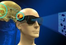 This device produces synthetic vision for the blind video