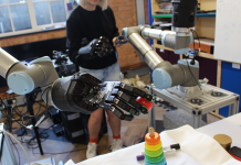 I took control of the huge robotic hand Jeff Bezos called 'strangely natural'– and he was best