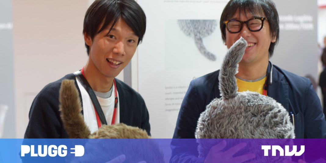 The coolest thing I saw at IFA was a headless robotic feline from Japan
