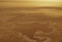 Lakes of methane on Saturn's moon Titan might be the craters of huge surges, a brand-new research study programs