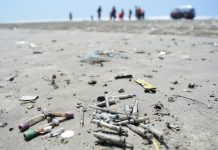 She Tweeted About Medical Waste On A Beach– And It Had An Effect