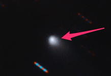A brand-new picture of a mystical things careening towards our planetary system highly recommends it's the very first comet from another galaxy