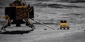 NASA lunar probe will assist look for India's lost moon lander