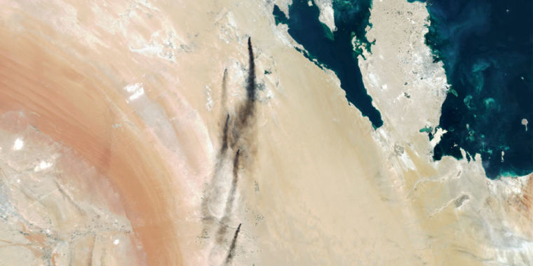 Rockets and drones that strike Saudi oil fields: Made in Iran, however fired by whom?